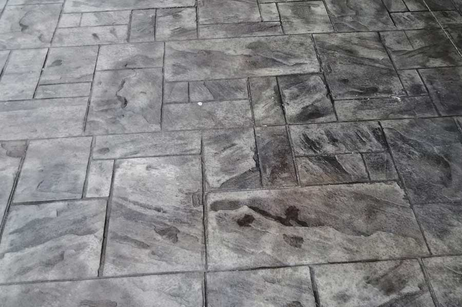 Full Mason Concrete - Stamped